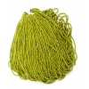 Seedbead Opaque Olive 10/0 Strung